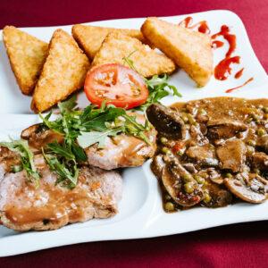 Sertéshúsból készült ételek